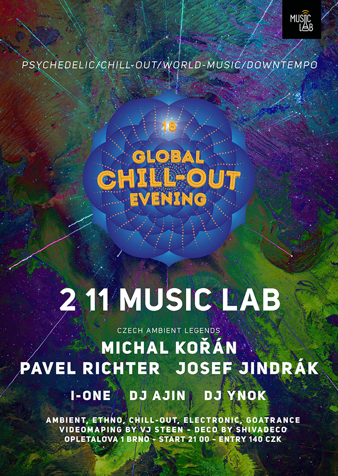 Global chill-out evening 18. - Czech ambient legends edition